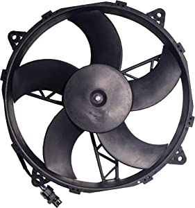 ATV Parts Connection Radiator Cooling Fan for Polaris ATV UTV, Replacement to OE # 2410413, 2410288
