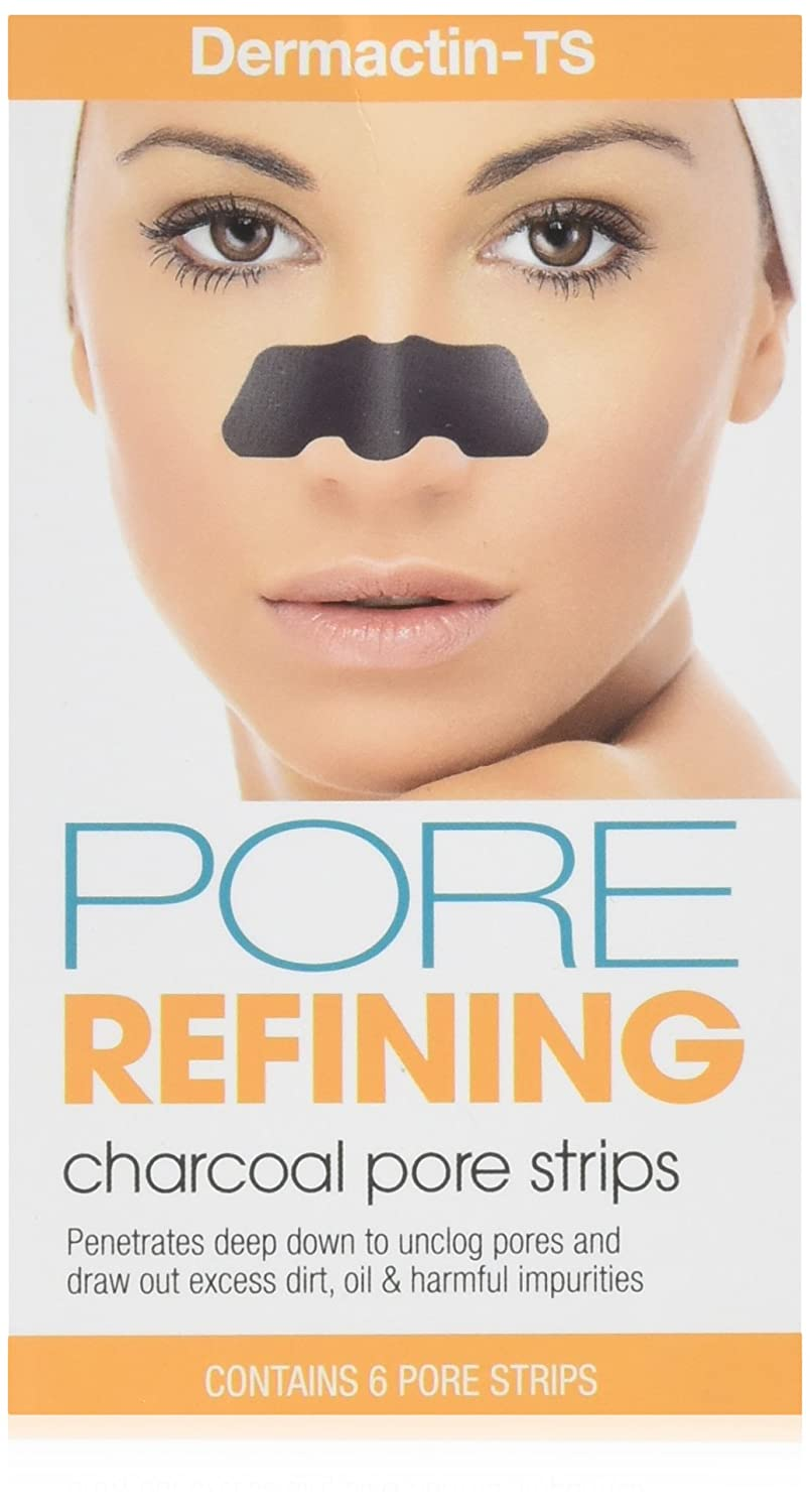 Dermactin-TS Pore Refining Charcoal Strips 1 Count