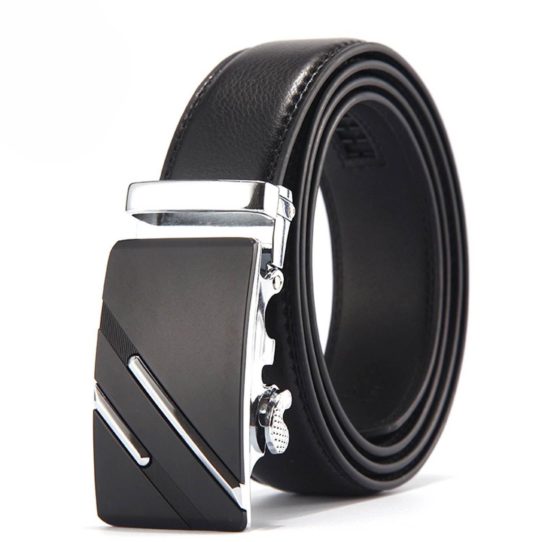 Susan1999 Belt Men Genuine Luxury Leather Belts Metal Automatic Buckle Top Quality