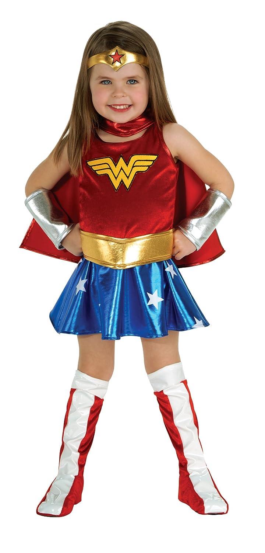 Amazon.com: DC Super Heroes Child's Wonder Woman Costume, Toddler ...