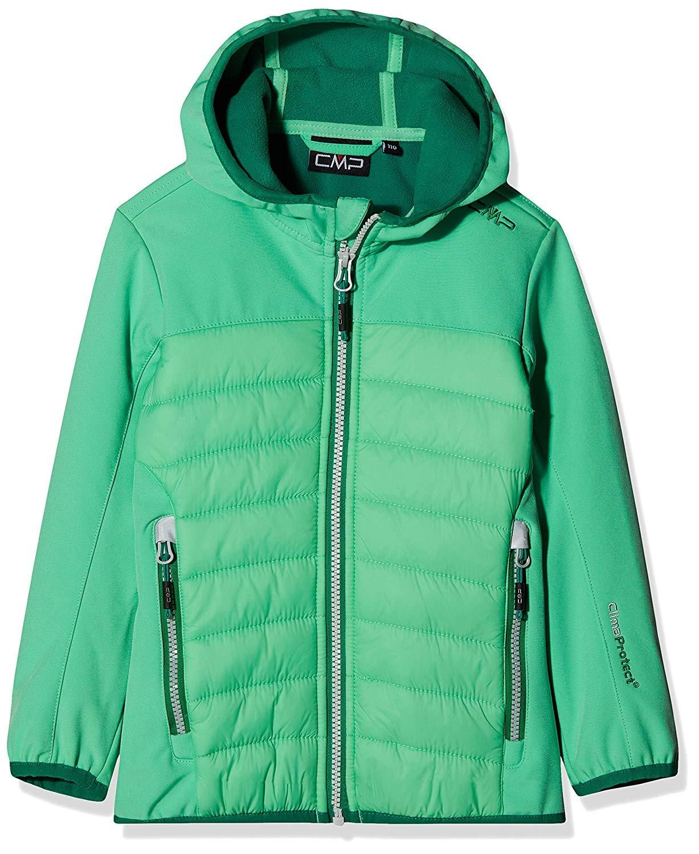 Ice Mint 8-9 ans CMP Softshell Jacke Hybrid Veste Fille