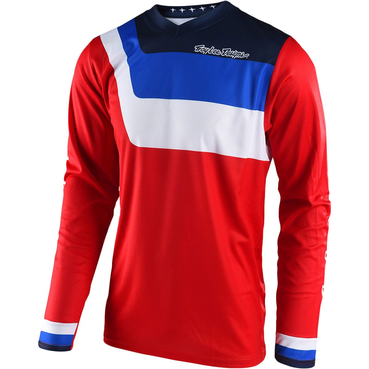 Troy Lee Designs 2018 Youth GP Prisma Jersey-Red-YS
