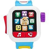 Fisher-Price- Smartwatch Hora de Aprender, Juguete con música y luz para niños + 6 Meses (Mattel GMM40)