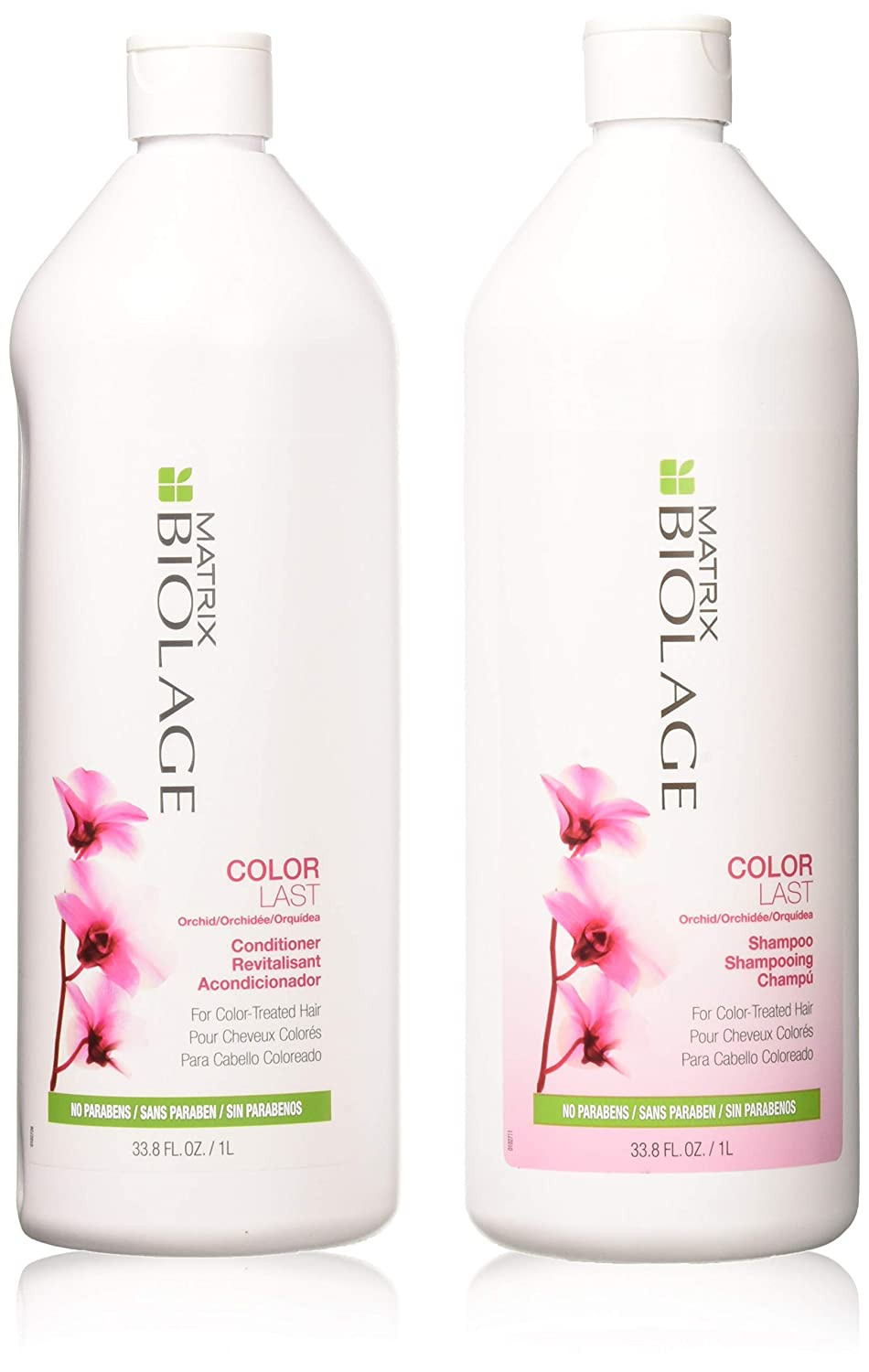 Biolage Colorlast Shampoo & Conditioner Liter Duo, 33.8 oz matrix 885364623115