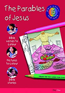 Bible Colour And Learn 15 Parables Of Jesus