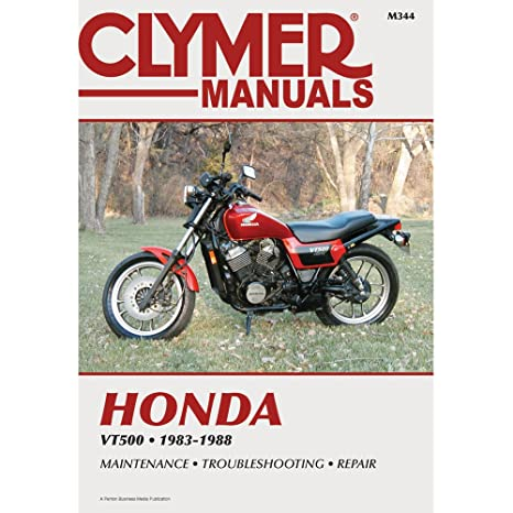 amazon com clymer honda motorcycle repair manual m344 home audio rh amazon com honda vt500 service manual download free 1985 honda shadow vt500 service manual