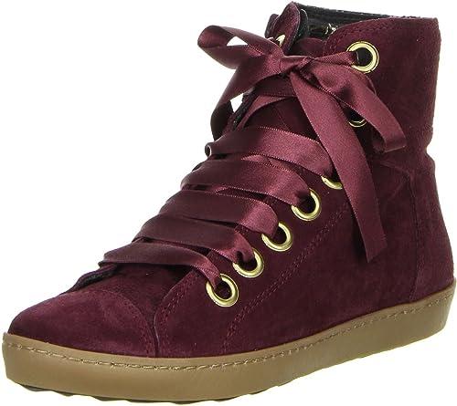 602cd106dea8 ONLINE SHOES Damen Sneaker pflaume  Amazon.de  Schuhe   Handtaschen