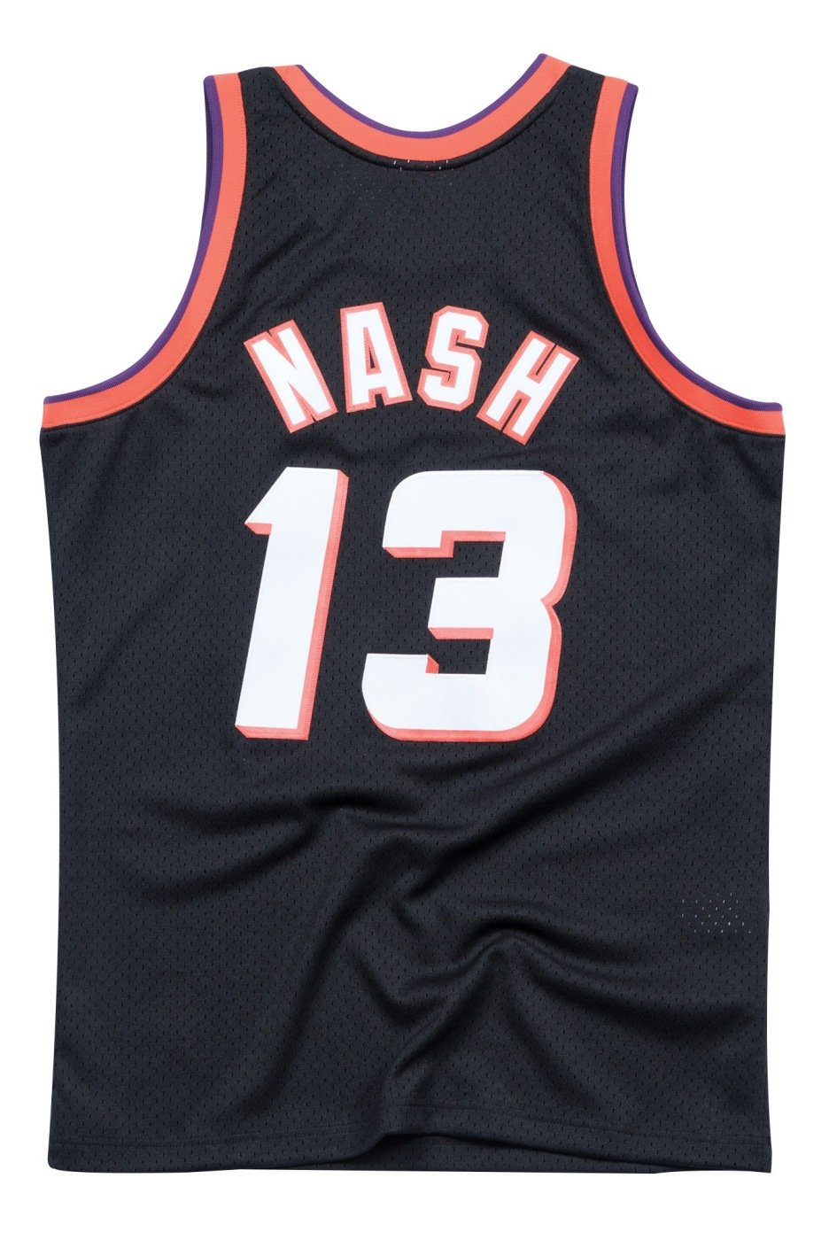 check out 8ff14 ad7dc Steve Nash Phoenix Suns Mitchell and Ness Men's Black Throwback Jesey