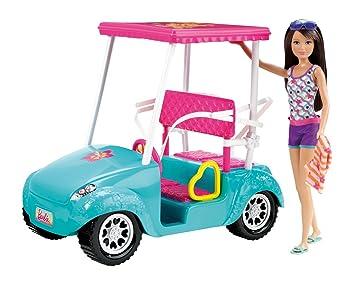 Amazon.es: Barbie X4926 - Coche De Golf De Barbie Y Sus Hermanas (Mattel): Juguetes y juegos