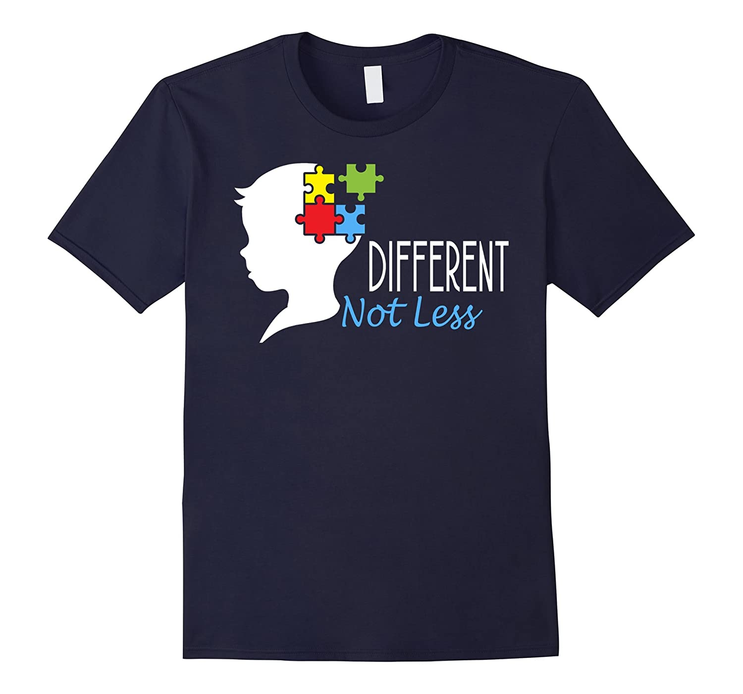 Autism awareness shirts - Different Not Less-Rose
