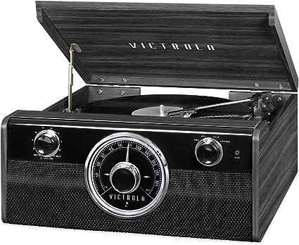Amazon.com: Victrola - Reproductor de audio con Bluetooth y ...