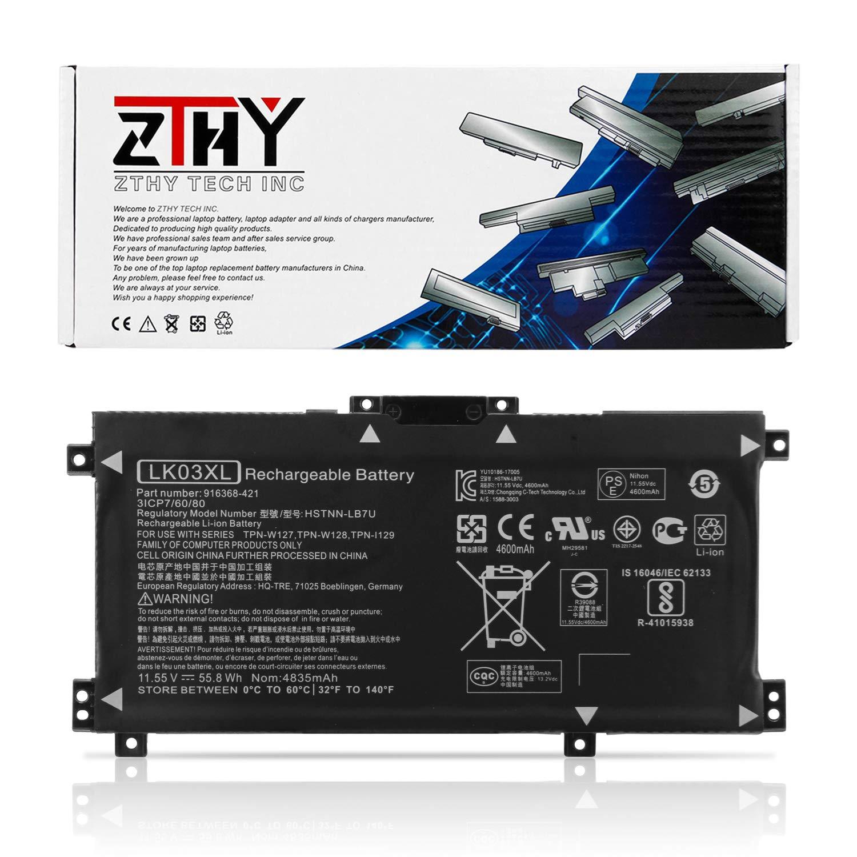 Bateria LK03XL para HP Envy 17 17-AE143NG 17M-AE0XX Envy X360 15-BP000 15-BP107TX 15M-BP000 15M-BP012DX Series 916368-54