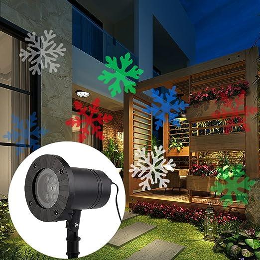 Proyector led de ParaCity, foco proyector para fiestas, árboles de ...