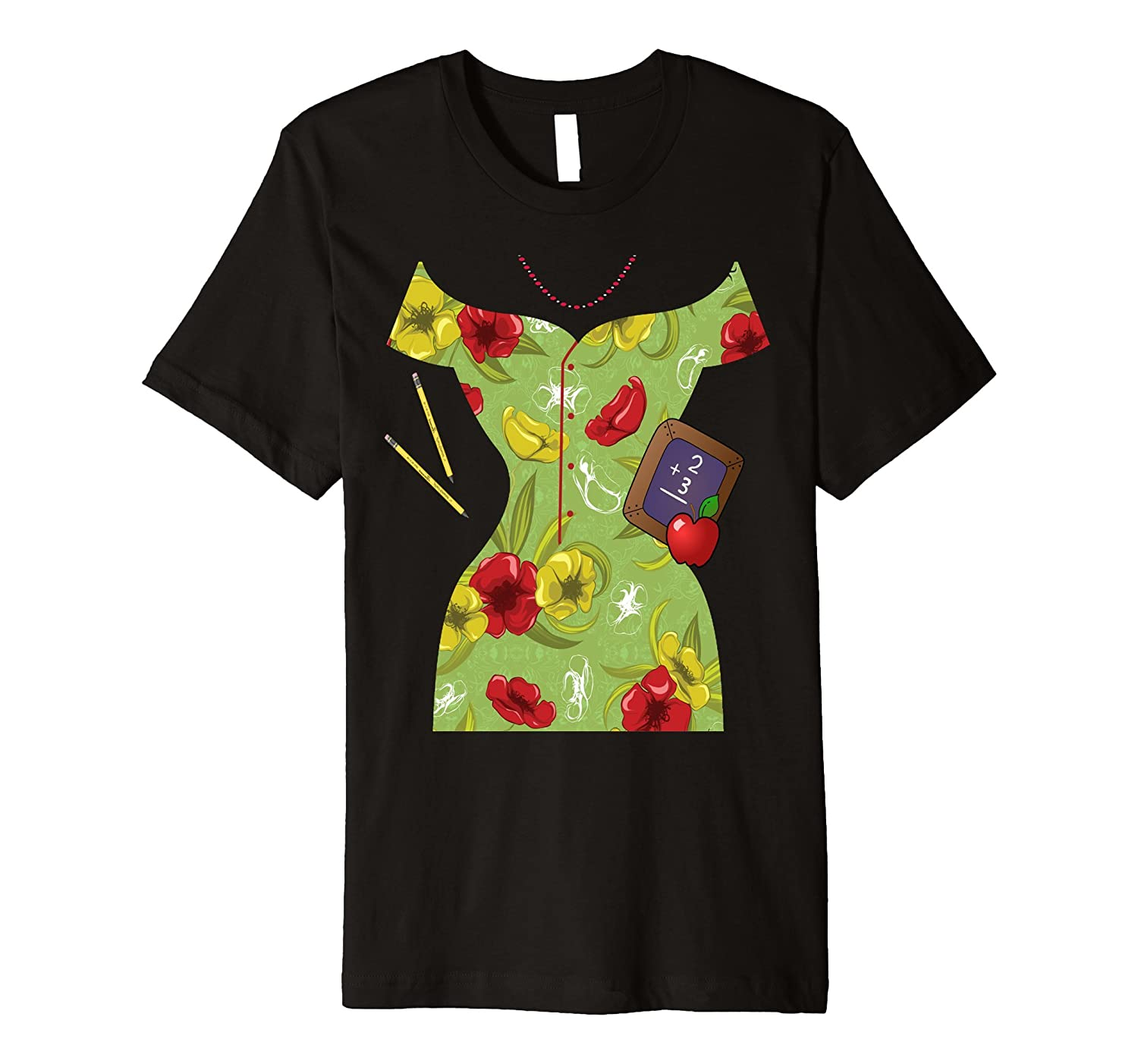 Teacher Dress Halloween Costume T-Shirt