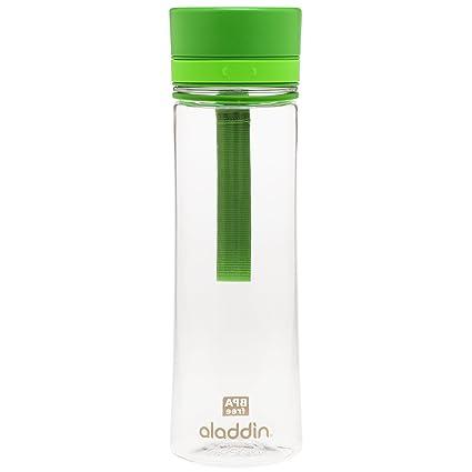 Aladdin Botella de agua «Aveo», plástico, Verde, ...