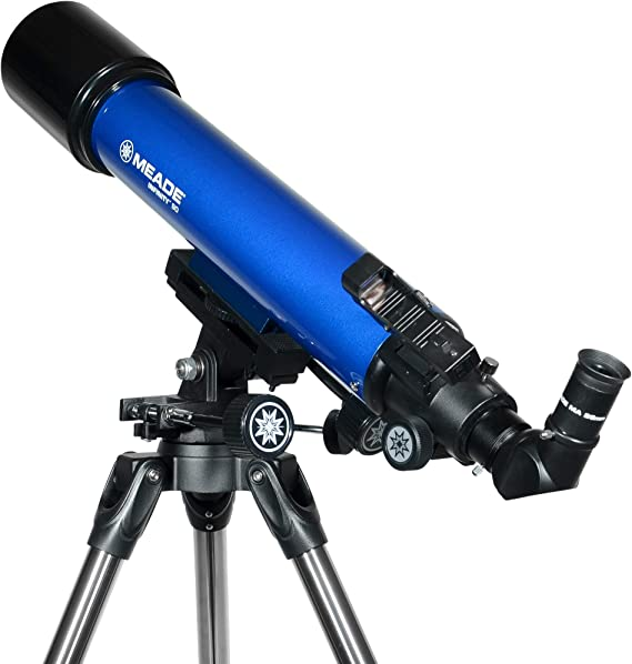 Meade Instruments 209005 Infinity AZ Refractor Telescope with Accessories and Tripod