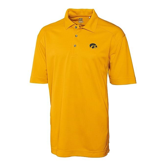 NCAA Iowa Hawkeyes Mens CB DryTec Genre Polo Tee X-Large College Gold