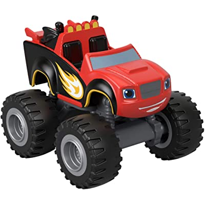 Fisher-Price Nickelodeon Blaze & The Monster Machines, Ninja Blaze Toy, Red: Toys & Games