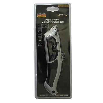 ROLLER Cuttermesser - schwarz-grau - mit 5 Ersatzklingen: Amazon ... | {Roller küchen grau 95}