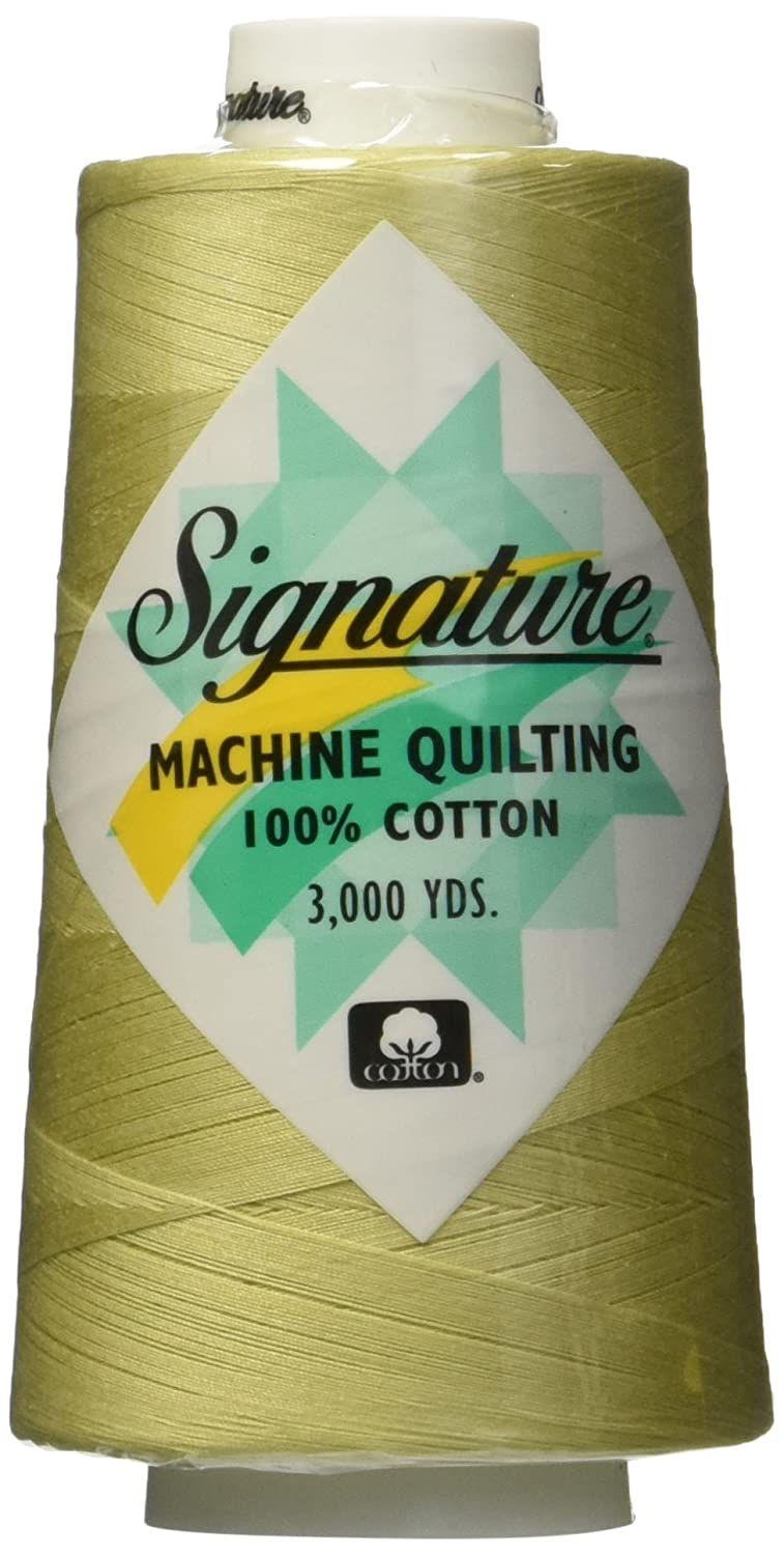 Signature Cotton Quilting Thread, 3000 yd, Solids Bamboo 47S-F101