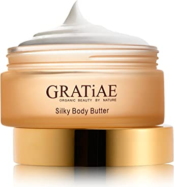 Gratiae Organic Cosmetics Apple Green Tea Ginger Silky Body Butter Amazon Co Uk Luxury Beauty
