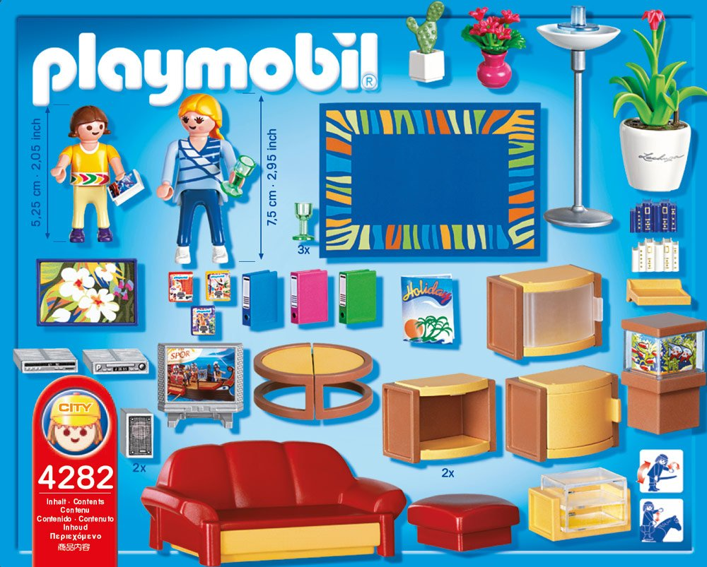 Playmobil 4282 Living Room: Amazon.co.uk: Toys & Games