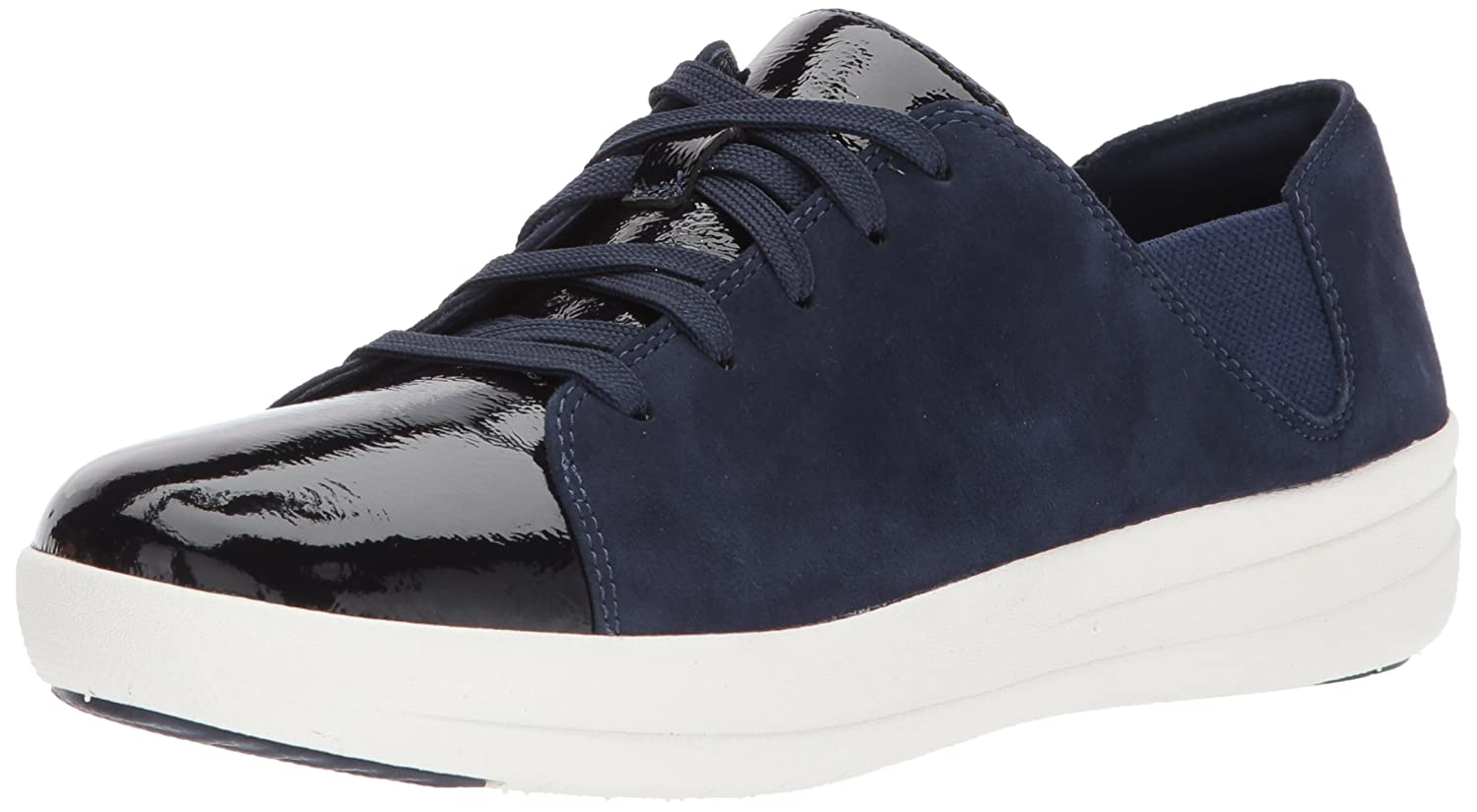 FitFlop Women's F-Sporty Lace-up Sneaker B07114HS9T 6 B(M) US|Midnight Navy Mix