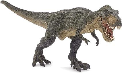 Amazon Com El Dinosaurio Verde Papo Tiranosaurio Rex Toys Games Características del tyrannosaurius rex cómo era tyrannosaurus rex el tiranosaurio rex vivió en el cretácico superior dinosaurio tiranosauro. el dinosaurio verde papo tiranosaurio rex