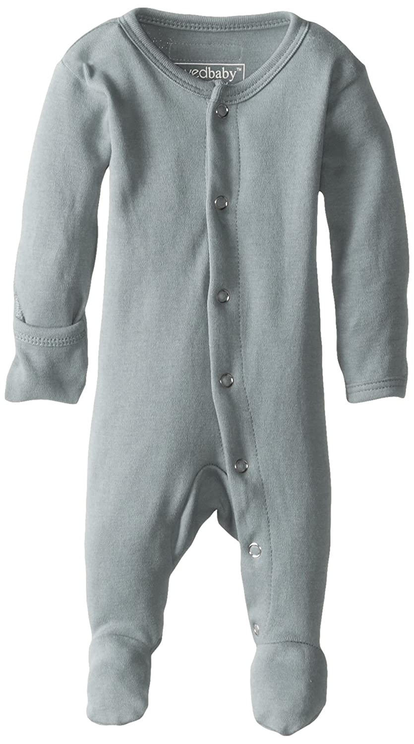 L'ovedbaby Unisex Organic Cotton Footed Overall