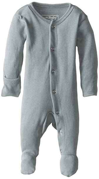 Amazon L'ovedbaby Unisex-Baby Organic Cotton Footed Overall