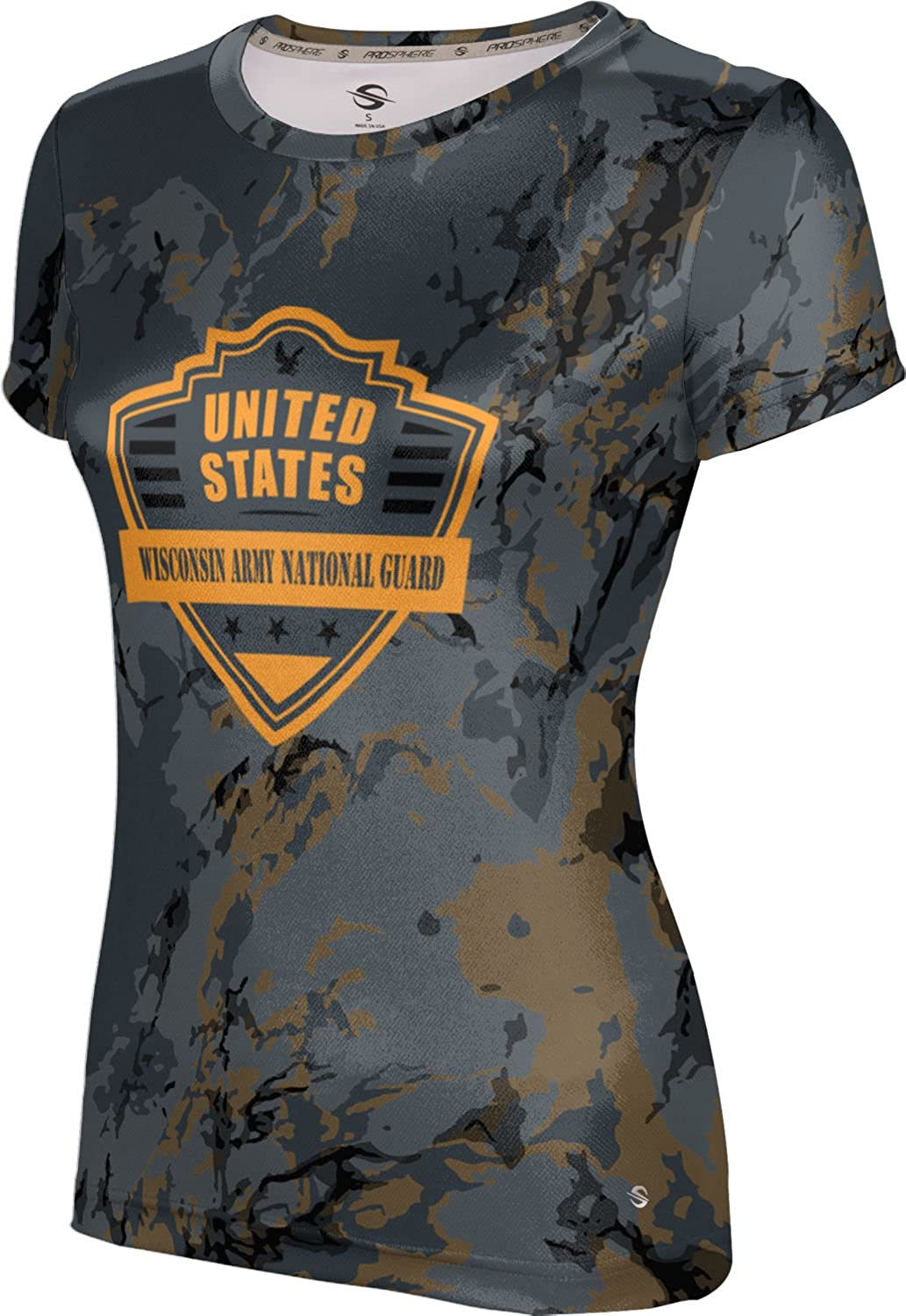 ProSphere Women's Wisconsin Army National Guard Military Marble Tech Tee