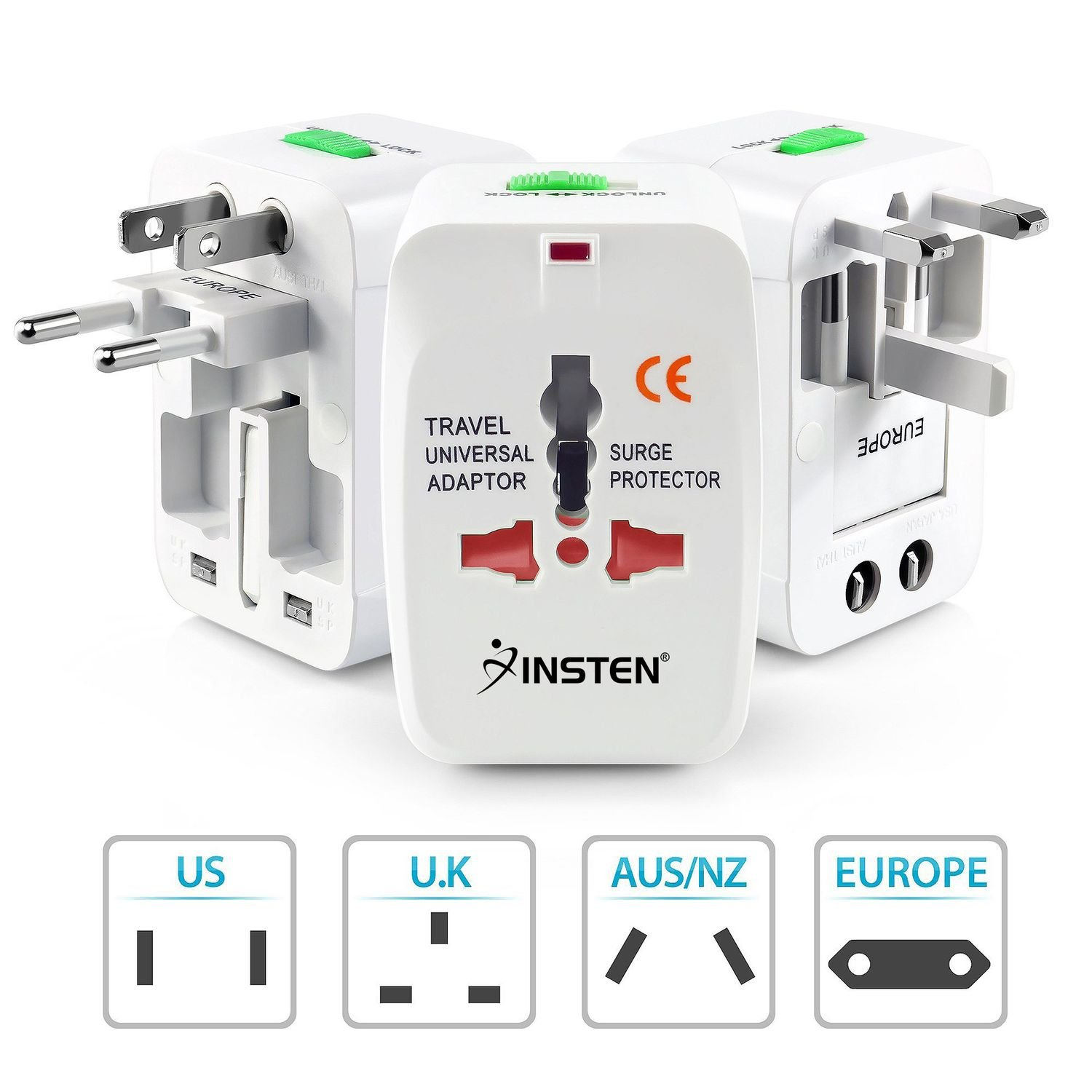 Generic World Wide Travel Charger Adapter Plug White Buy Telephone Wiring Diagram Australia Online At Low Price In India