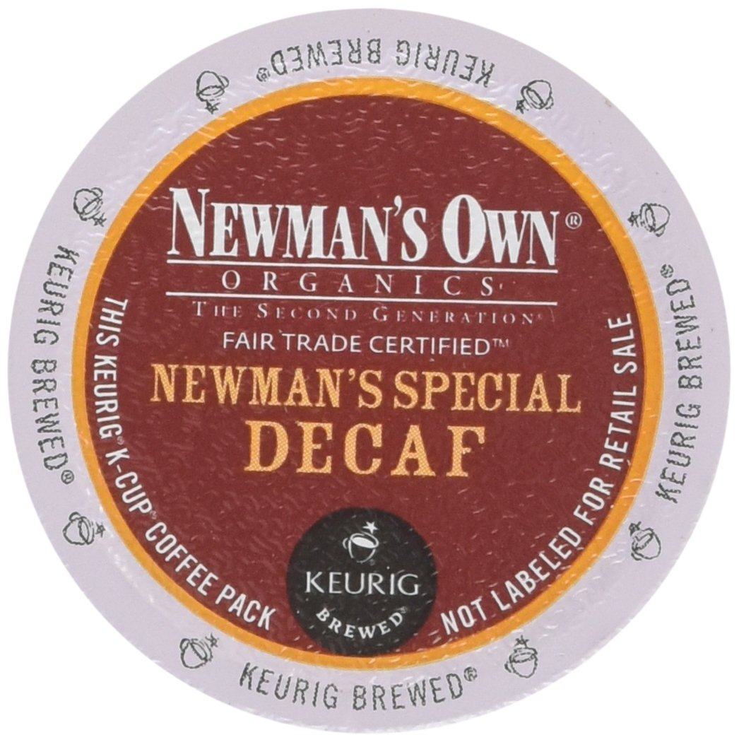 Newman's Own Organics Newman's Special Decaf K-Cup Coffee, 48 Count
