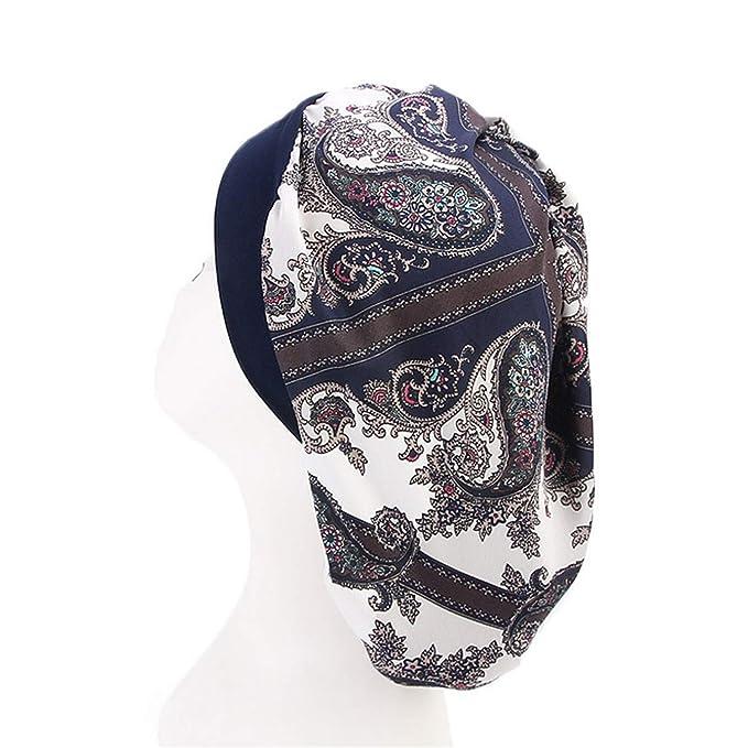 2019 Long Hair Care Women Fashion Satin Bonnet Cap Night Sleep Hat Silk Cap Head Wrap in Stock at Amazon Mens Clothing store: