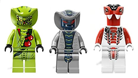 LEGO® Ninjago: Rattla Lasha and Fang Suei - Snake Army ...