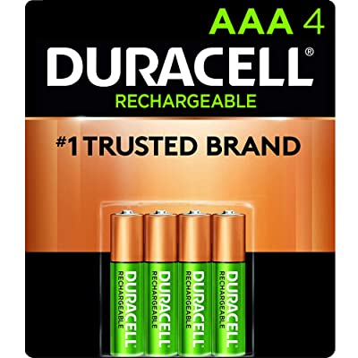 Duracell - Rechargeable AAA Batteries
