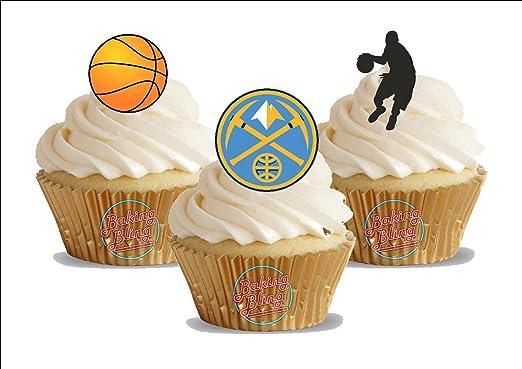 12 x baloncesto Denver Nuggets Mix - diversión novedad ...