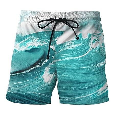 Owenqian Surf Swim Trunks para Hombre Traje de baño Traje de baño ...