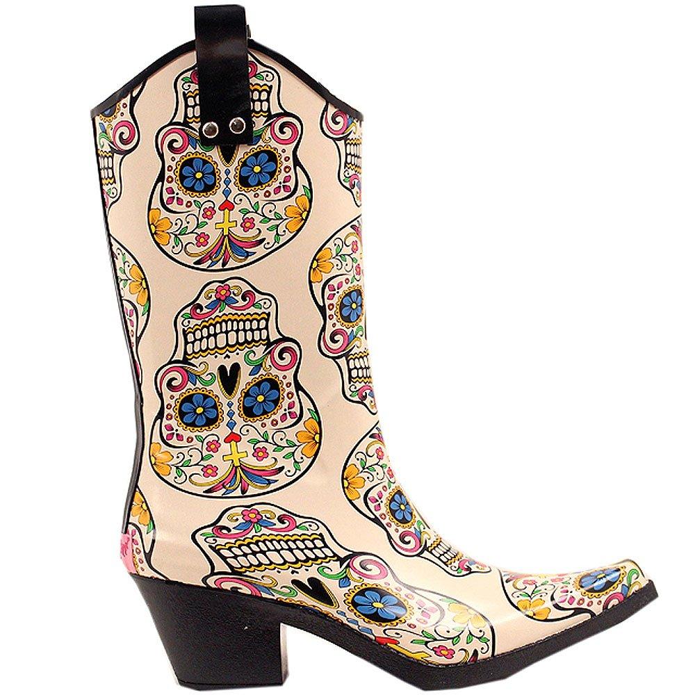 今季一番 サイズ9 M Toe脚雨ブーツ B0195P8EIU & F Western女性用クリームシュガースカルデザインSnip M Toe脚雨ブーツ B0195P8EIU, ハビコロトイ:9055ec98 --- a0267596.xsph.ru