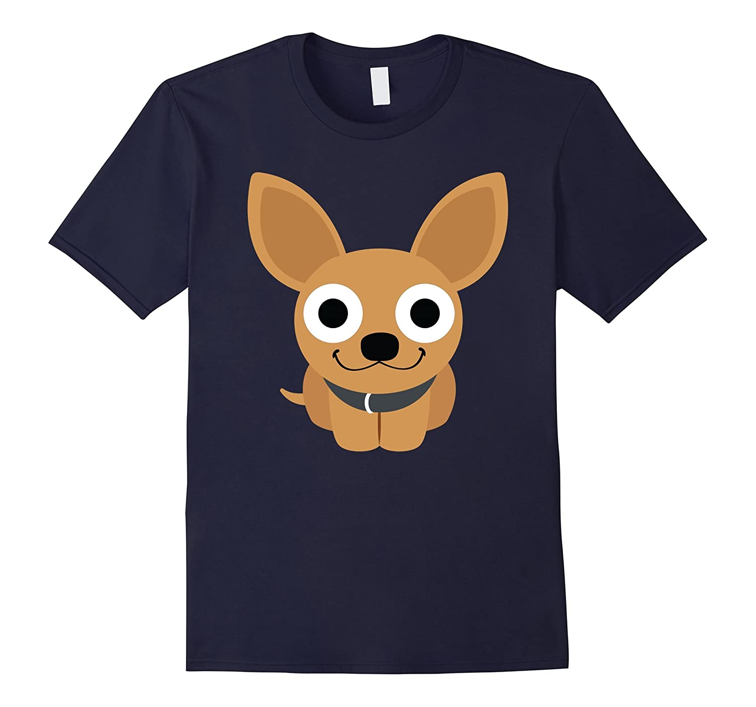 Chihuahua Surprised Emoji Shirt T-Shirt Tee-TH