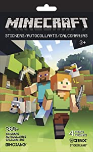 Trends International Minecraft - STICKERLAND 4PG Pad