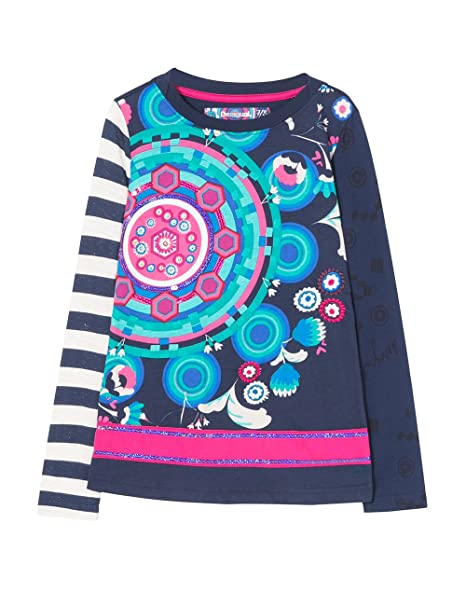 it T distrito Ragazze E Shirt Bambine Desigual Amazon Ts Per qAzCaw