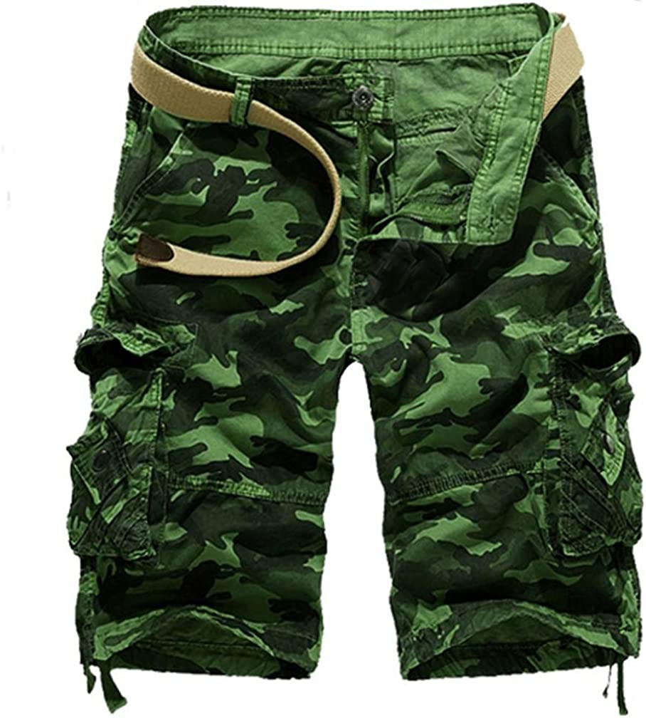 vermers Fashion Cargo Shorts for Men 2018 New Summer Casual Work Short Pants with Pocket