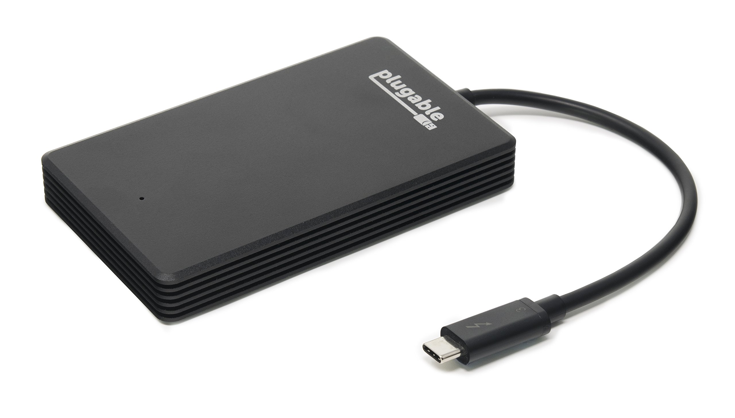 Plugable Thunderbolt 3 480GB NVMe SSD (Up to 2400MB/s+ Read, 1200MB/s+ Write)