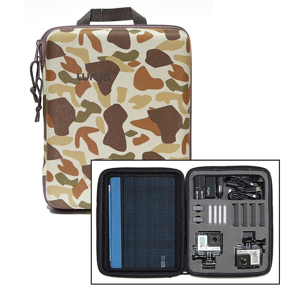 WRYD Bento Multi GoPro Camera / Accessory Case - Camo
