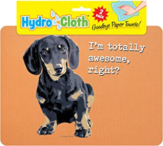 product image for Fiddler's Elbow Hydro Cloth Dog Breed Dishcloths | Set of 2 | Eco-Friendly Dish Cloths | Paper Towel Replacements (Dachshund)