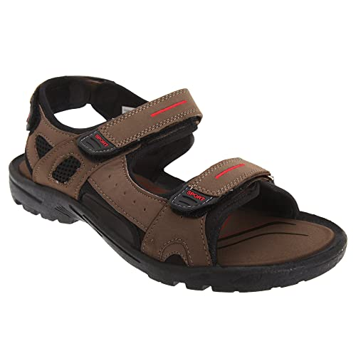 c59517227 PDQ - Sandalias Chancla con Triple Cierre de Cierre Adhesivo Modelo Sports  Hombre Caballero - Verano  Amazon.es  Zapatos y complementos