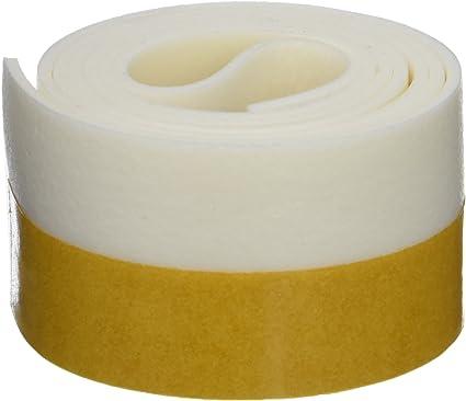 Talla /única Geko 5190145 Burlete Umbral Autoadhesivo PVC Flexible Marron