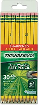 30 Pack Pre Sharpened Pencil
