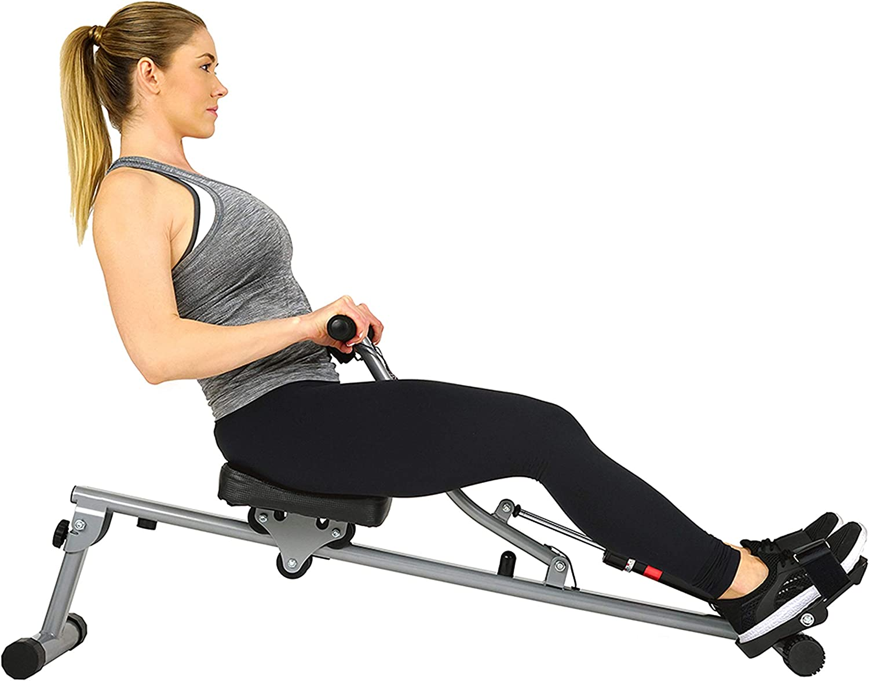 Sunny Health & Fitness SF-RW1205 12 Adjustable Resistance Rowing Machine